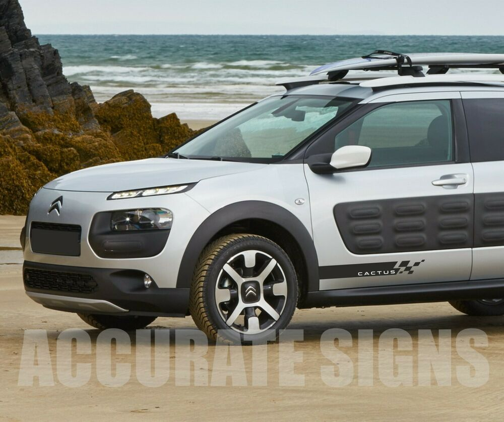 citroen c4 cactus stickers graphics stripes pair any colour ebay. Black Bedroom Furniture Sets. Home Design Ideas