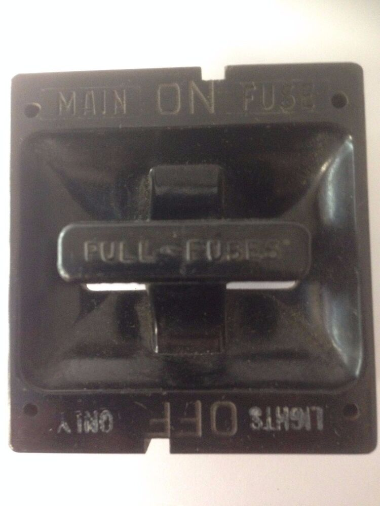 Square D 60 Amp Fuse Holder Pull Out