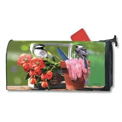 MailWraps - Oversized Mailbox Cover - Chickadee Rest Stop