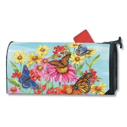 MailWraps - Oversized Mailbox Cover - Field of Butterflies