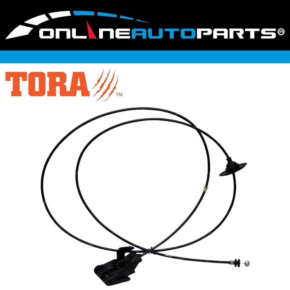 bonnet    hood release cable fits ford ba bf falcon