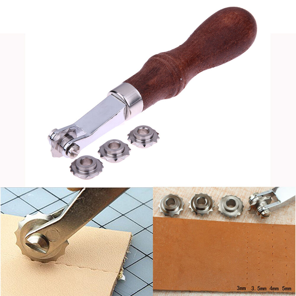 leather craft tools leather craft sewing punch tools kit leathercraft spacer 2321