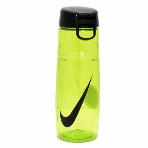New Nike Straw Insulated Water Bottle 32 Oz Green Stainless Steel Free Shipping