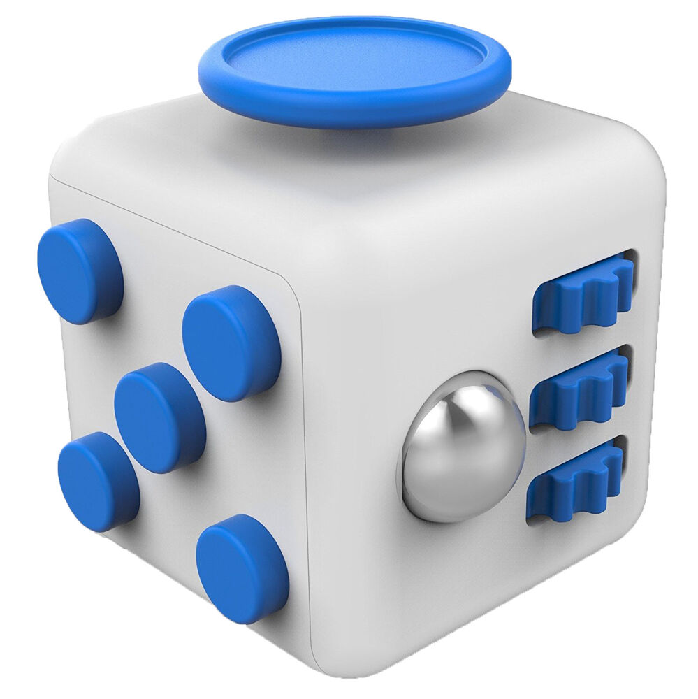 Desktop Toys For Grown Ups : Fidget cube desk toy stress anxiety relief focus puzzle