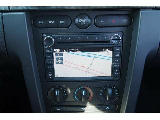 ford mustang gps navigation system radio 6cd player oem 2005 2006 2007 2008 2009 ebay. Black Bedroom Furniture Sets. Home Design Ideas