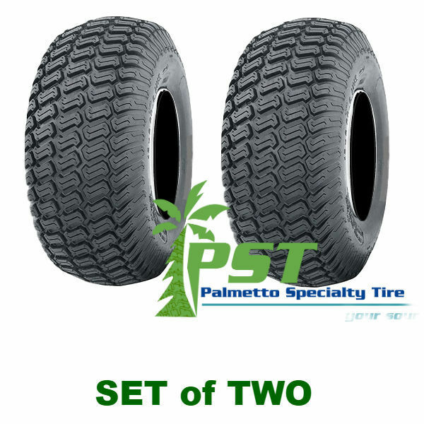 Set Of Two 20x8 00 8 Soft Turf Tires For Lawn Mower Riding