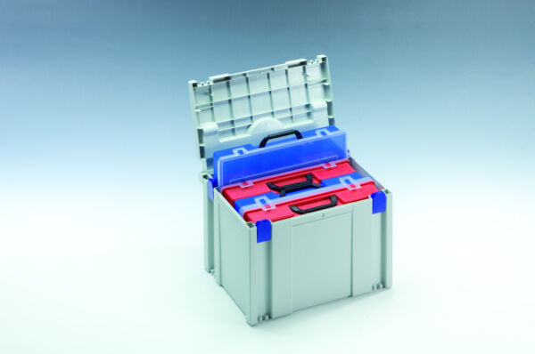 SYS Classic TLoc PROTOOL BERNER TANOS Systainer Tool Box TB 2 anthrazit koppelb