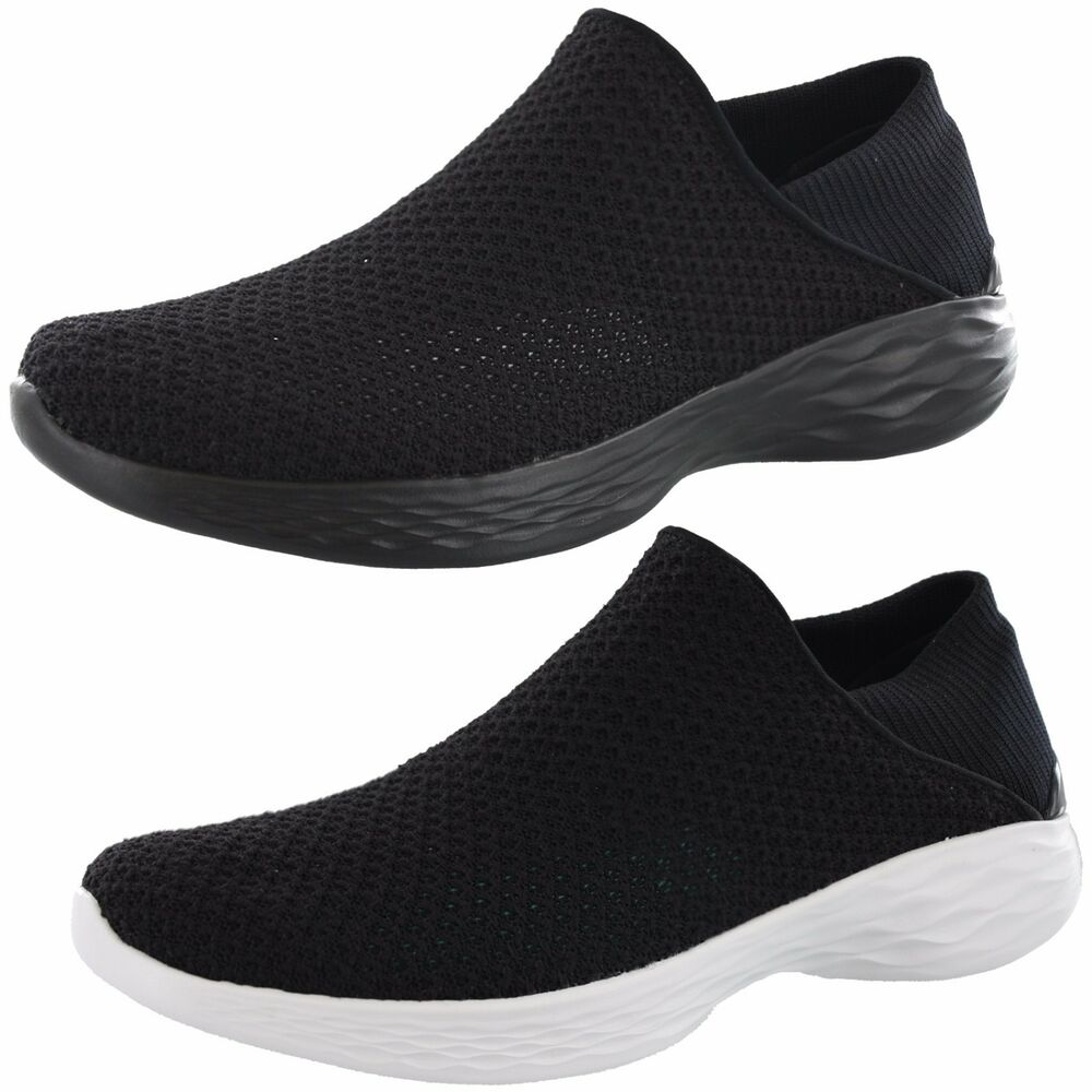 f7f317579eb Details about WOMENS YOU BY SKECHERS GO WALK 4 14951 SLIP ON SHOES