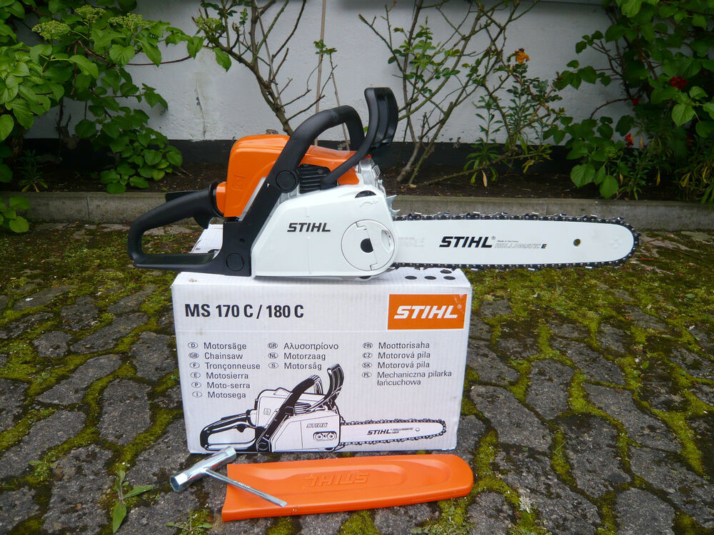 stihl ms 180 c be benzin motors ge kettens ge kettenschnellspannung 35cm 1 9ps ebay. Black Bedroom Furniture Sets. Home Design Ideas