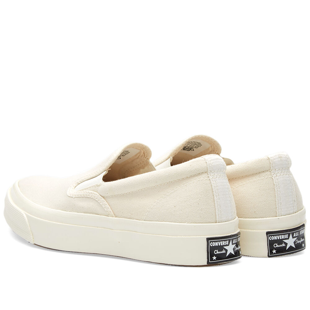 29c9c660e888 Details about Converse Deck Star 67 Slip.. Natural  White.. Men 3 or Women  5.. Ships Fast!