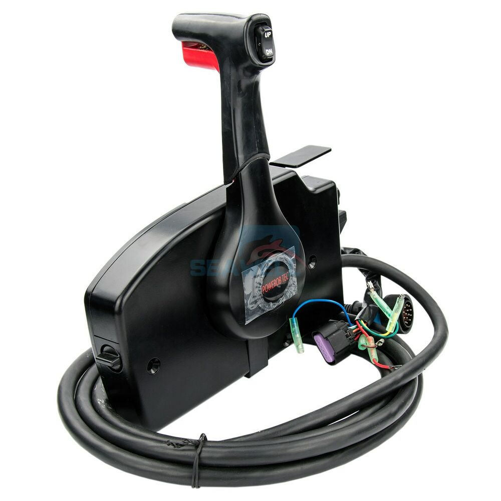 boat outboard engine remote control box for mercury 14pin. Black Bedroom Furniture Sets. Home Design Ideas