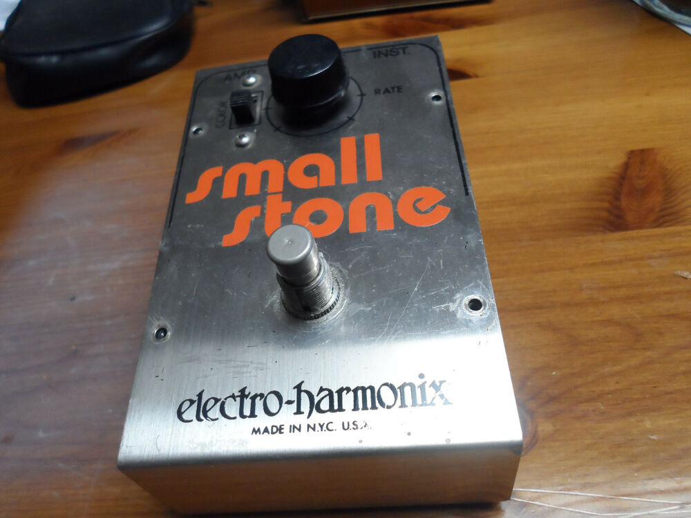 vintage electro harmonix small stone original guitar effects pedal ebay. Black Bedroom Furniture Sets. Home Design Ideas