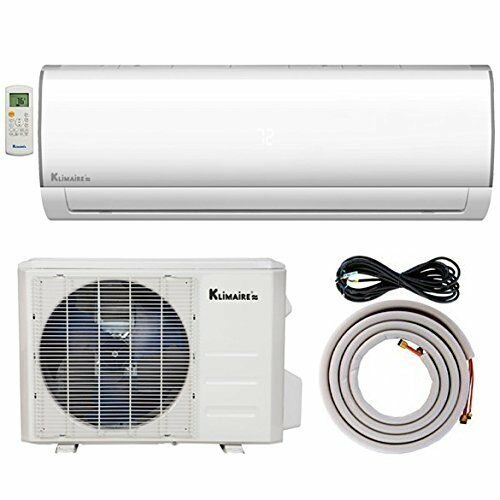 Klimaire 36000 Btu 16 SEER Ductless AC Mini Split Inverter