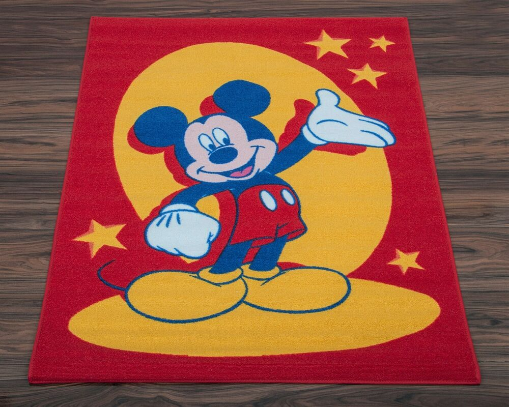 Official Disney Children S Rug Non Slip Play Mat Mickey