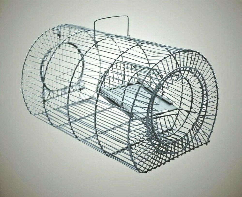 Big Rat Cage Trap Humane Live Animal Catcher Nopoison