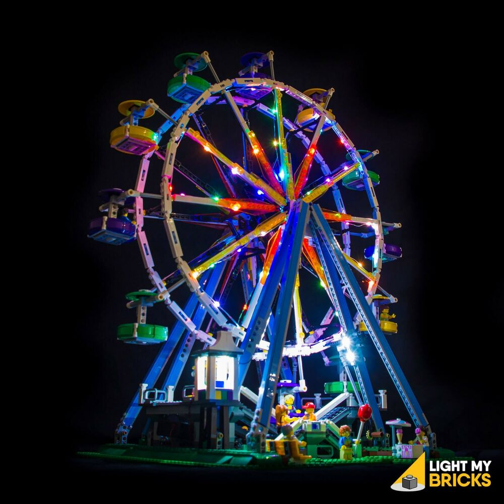 Light My Bricks Led Light Kit For Lego Ferris Wheel
