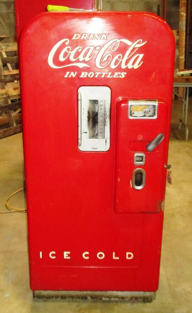 Coke Machine Vendo 39 in good working order. | eBay