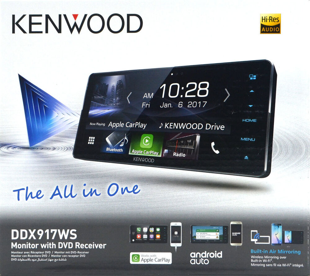 kenwood ddx917ws 7 wifi apple carplay android auto dvd. Black Bedroom Furniture Sets. Home Design Ideas