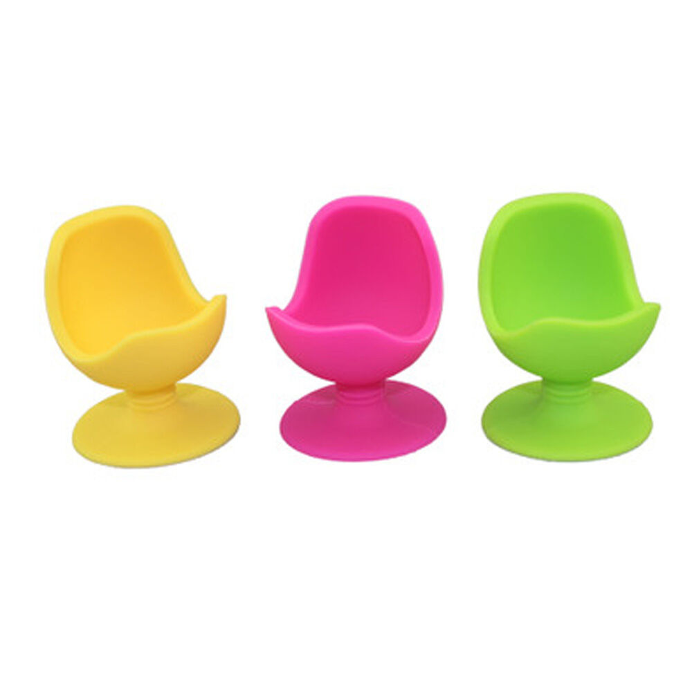 New Egg Cup Chair Base Holder Silicone Soft Boiled Egg