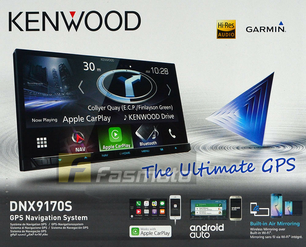 kenwood dnx9170s 7 wifi apple carplay android auto garmin. Black Bedroom Furniture Sets. Home Design Ideas