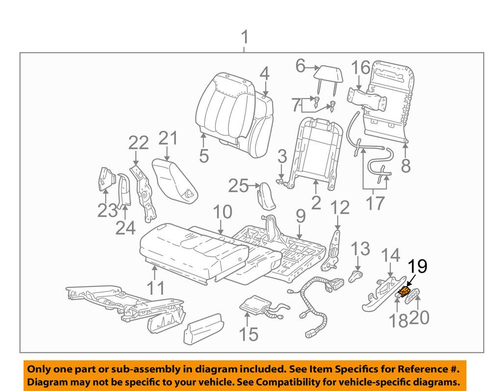 Gm Oem Power Seat Switch 22543666 Ebay Top Wiring Diagram For 1942 47 Chevrolet Passenger Cars Cabriolet