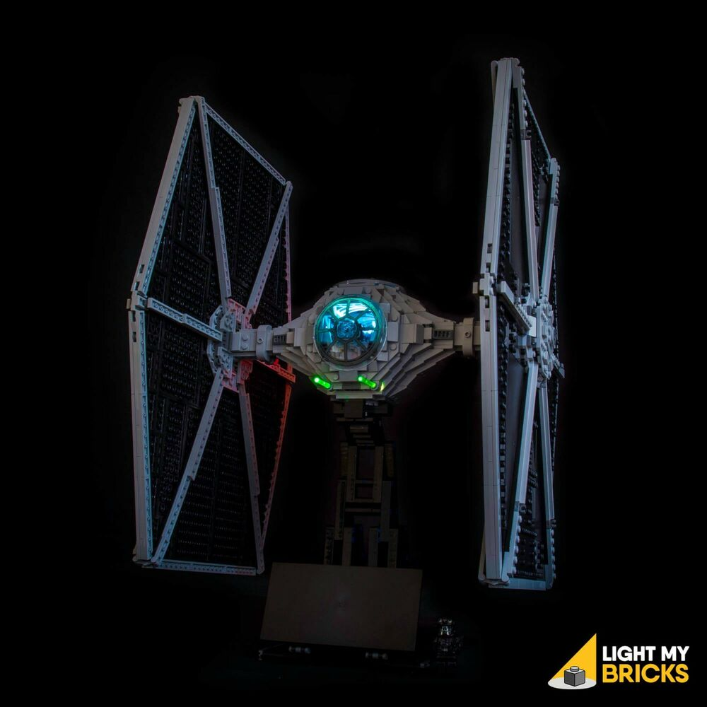 light my bricks led light kit for lego star wars ucs tie fighter 75095 ebay. Black Bedroom Furniture Sets. Home Design Ideas