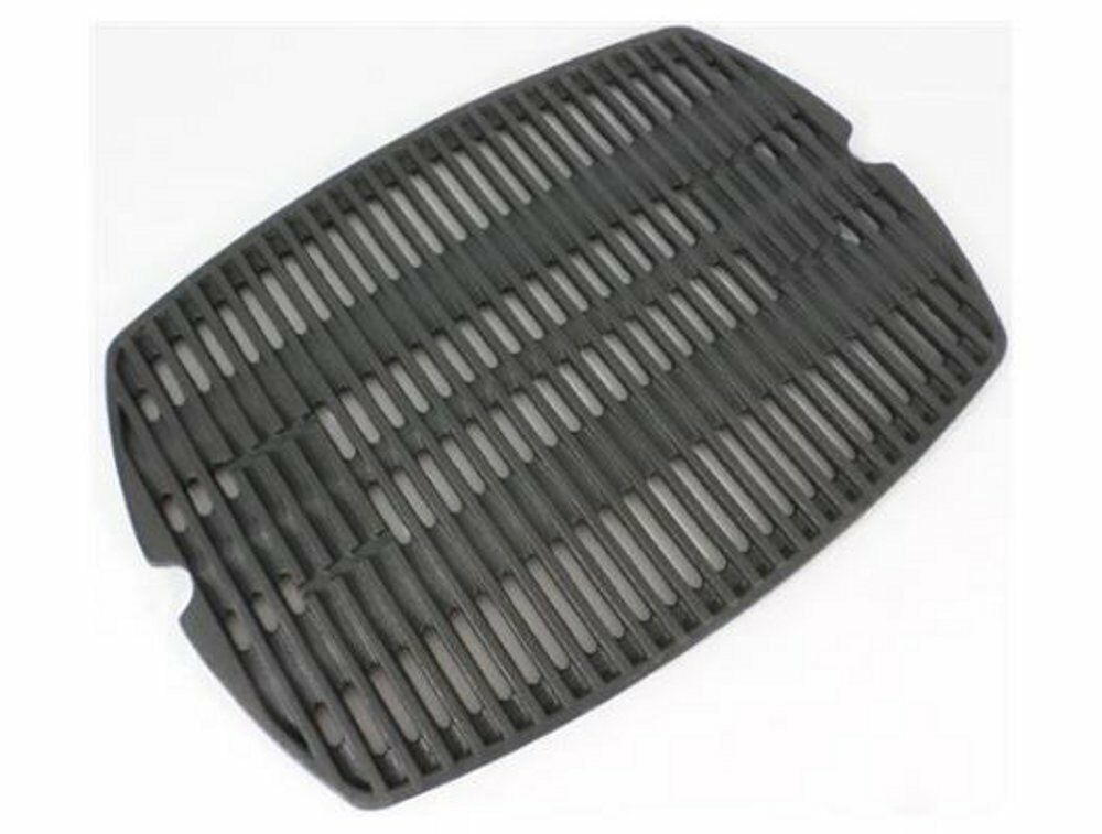 weber gas grill cast iron matte porcelain coated grates for q300 q320 q3000 ebay. Black Bedroom Furniture Sets. Home Design Ideas