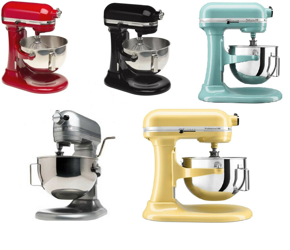 New Kitchenaid Kgh25hox Professional 5 Quart Stand Mixer 6