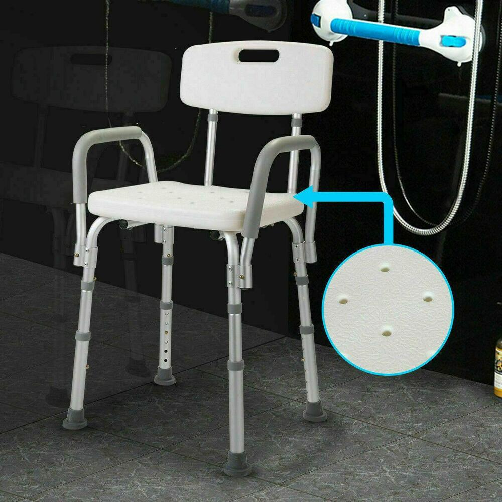 Adjustable Medical Shower Chair Bathtub Bench Bath Seat