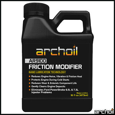 Archoil AR9100 16oz Friction Modifier - Oil Additive - PowerStroke Fix