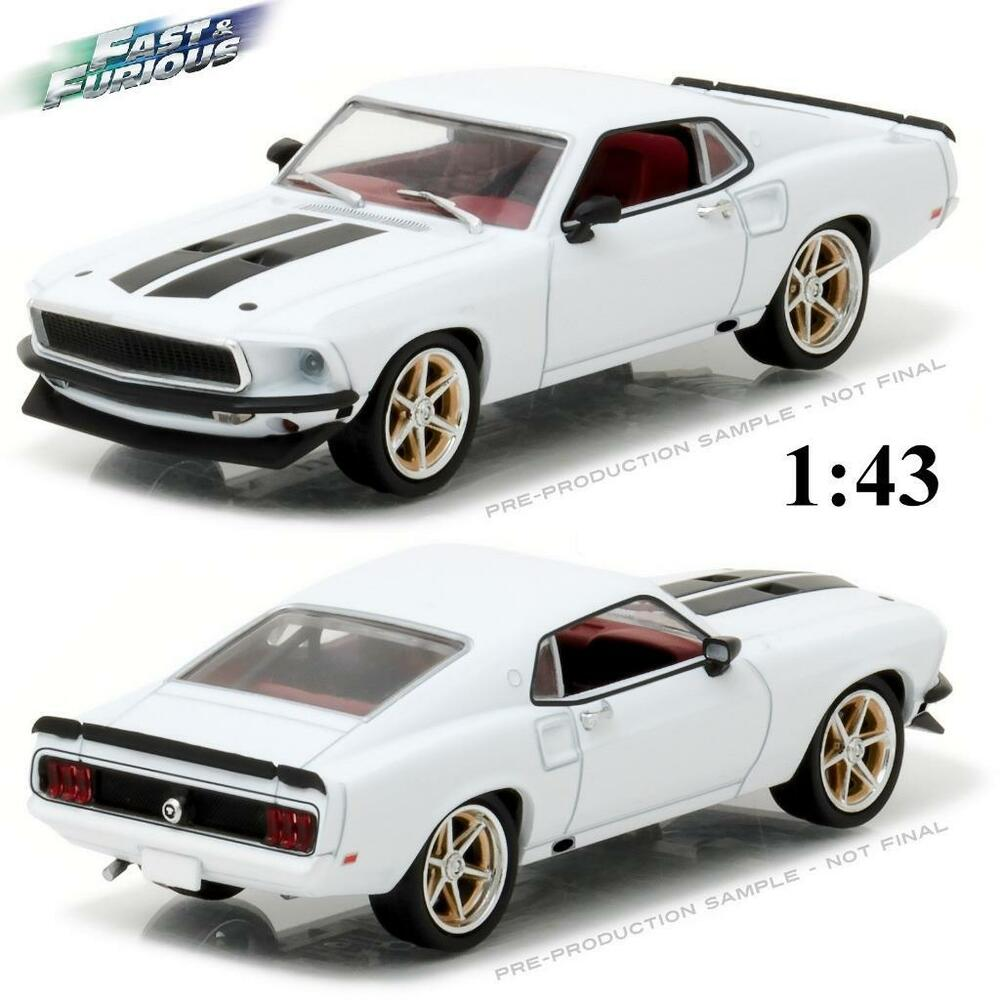 Details about greenlight 86236 romans 1969 ford mustang fast and furious diecast car 143