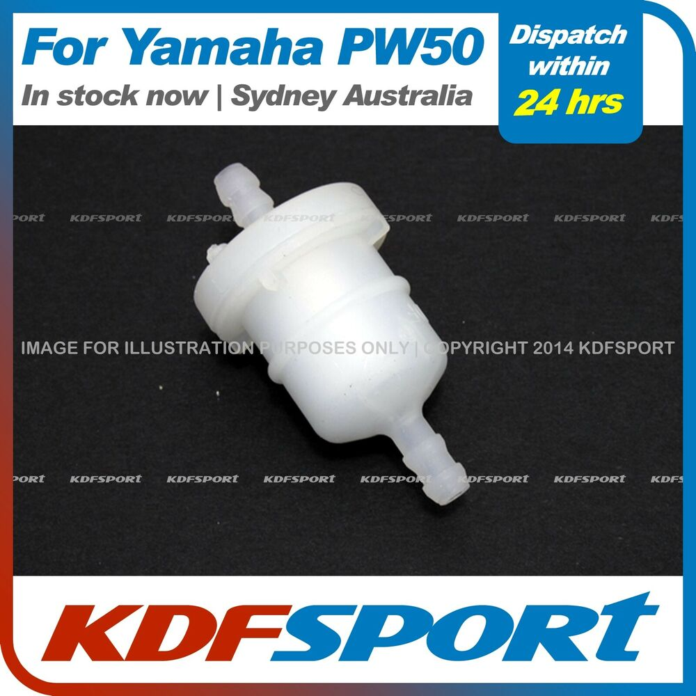 Yamaha Pw50 Peewee 50 Fuel Filter Inline Py50 Lx50py Js50py In Line Filters Kdf Ebay