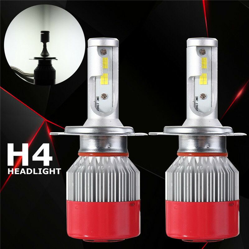 2x 110w 9200lm h4 bi xenon hi lo led headlight phare conversion lampe ampoule ebay. Black Bedroom Furniture Sets. Home Design Ideas