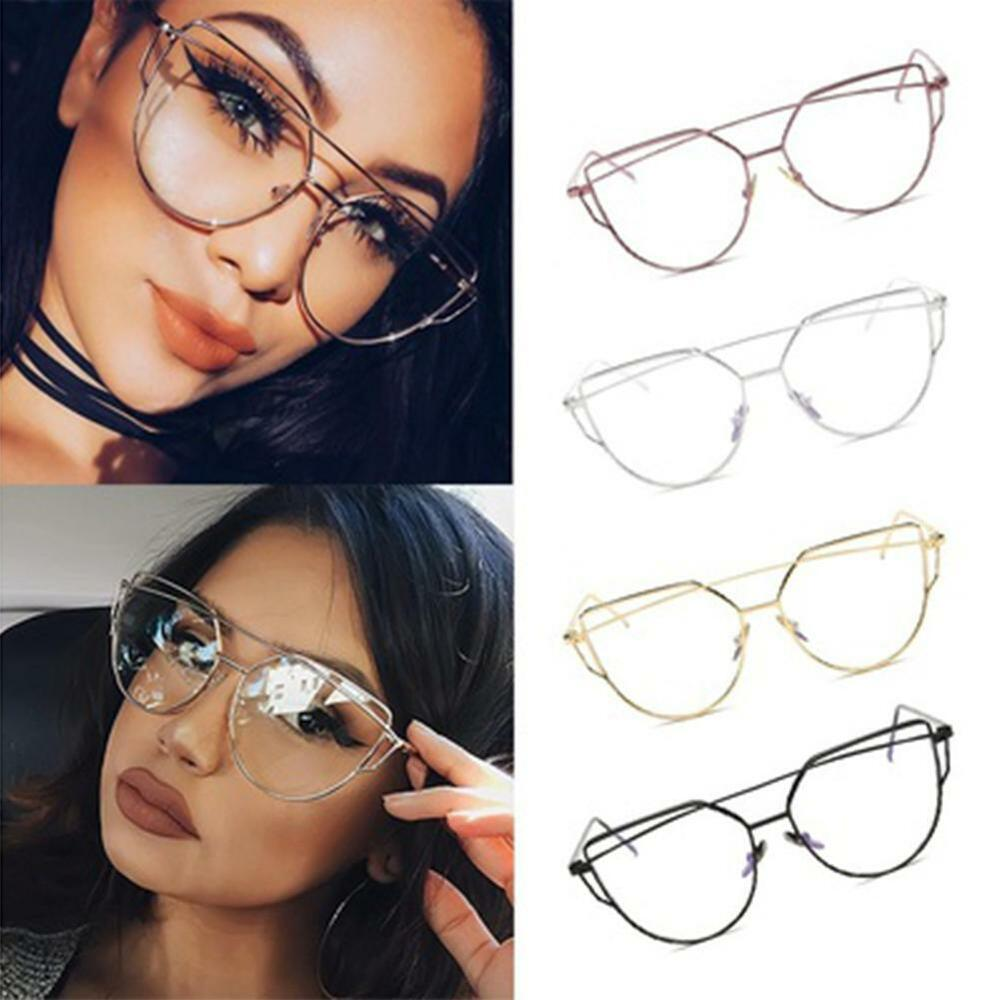 Sunglasses Women Cat Eye Glasses Eyeglasses Frame Eyewear ...