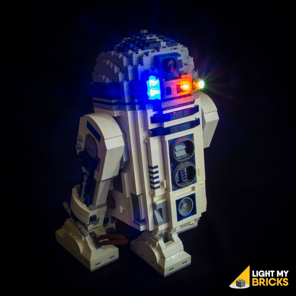 light my bricks led light kit for lego star wars r2d2 set 10225 lego led light ebay. Black Bedroom Furniture Sets. Home Design Ideas