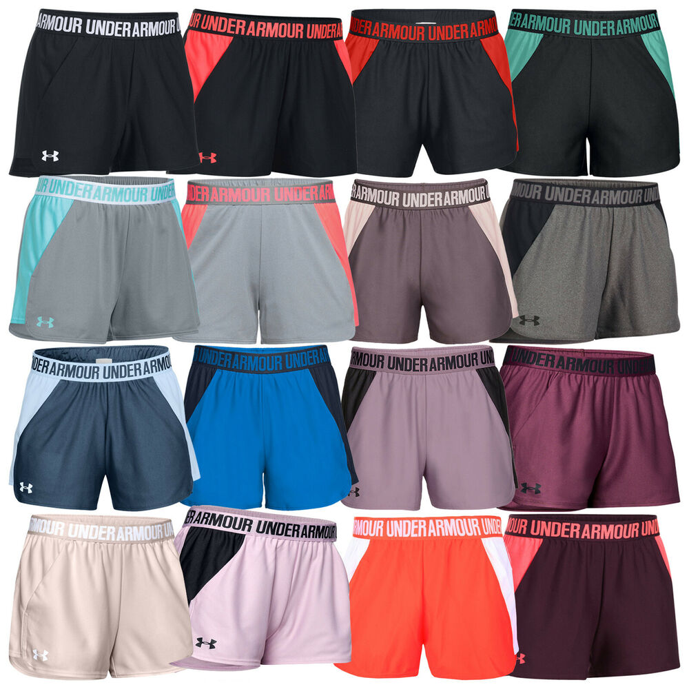2019 Under Armour Ladies Play Up 2.0 Shorts -Soft Light Dry UA Training Gym  Pant  96feafdeafe