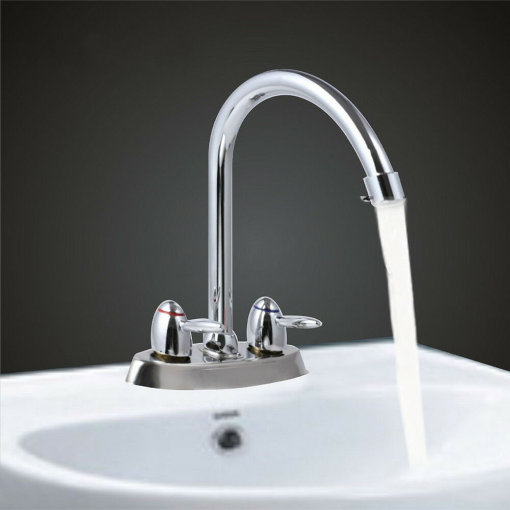 kitchen sink taps ebay 2 handle high spout kitchen bathroom faucet sink 5987