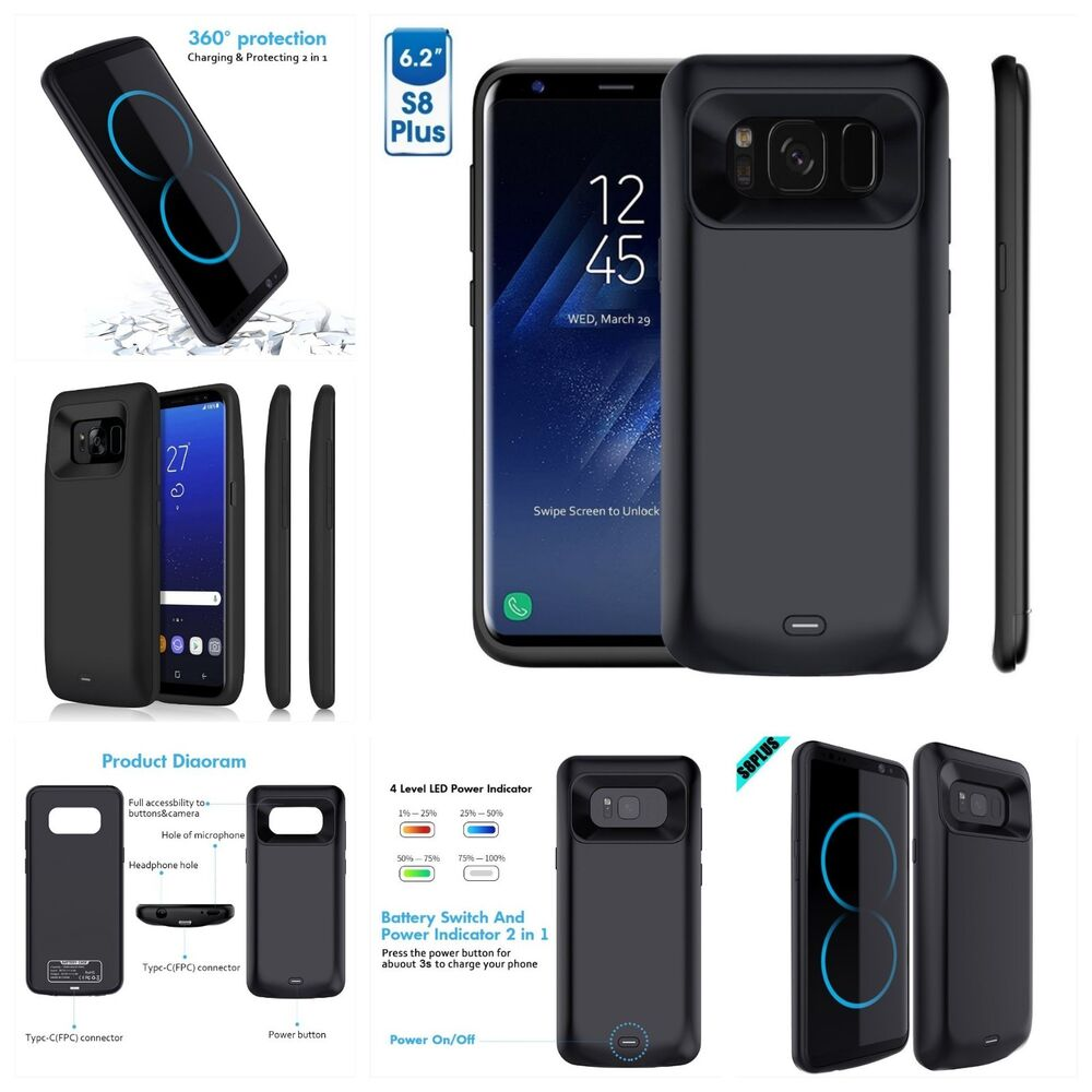 samsung galaxy s8 s8 edge plus extended battery power. Black Bedroom Furniture Sets. Home Design Ideas