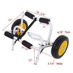 Kyпить Bend Kayak Canoe Boat Carrier Dolly Trailer Trolley Transport Cart Wheel Yellow на еВаy.соm