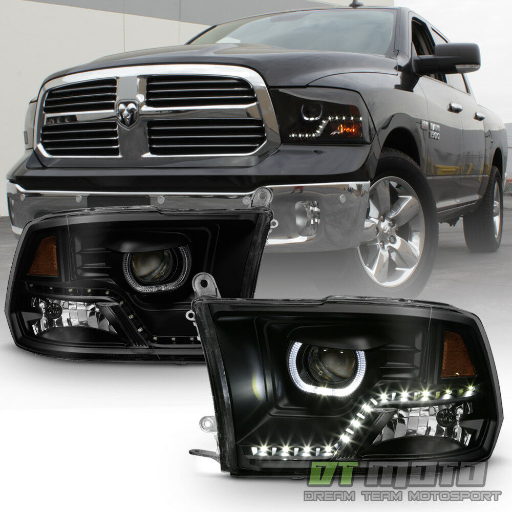 Dodge Ram 1500: Black Smoke 2009-2017 Dodge Ram 1500 2500 3500 SMD LED