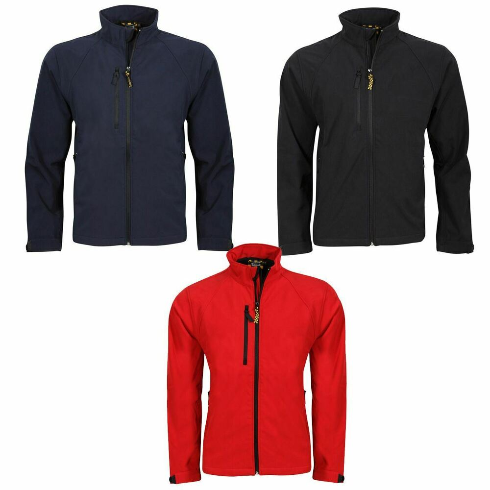 640aa6f574a Details about NEW WOMENS SOFTSHELL LEISURE WORKWEAR JACKET BLACK NAVY RED  8940F CLEARANCE