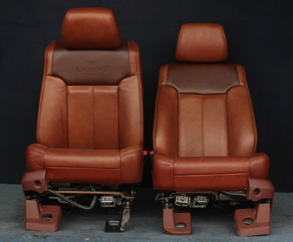 2011 2012 Ford F250 King Ranch Front Seats Ebay