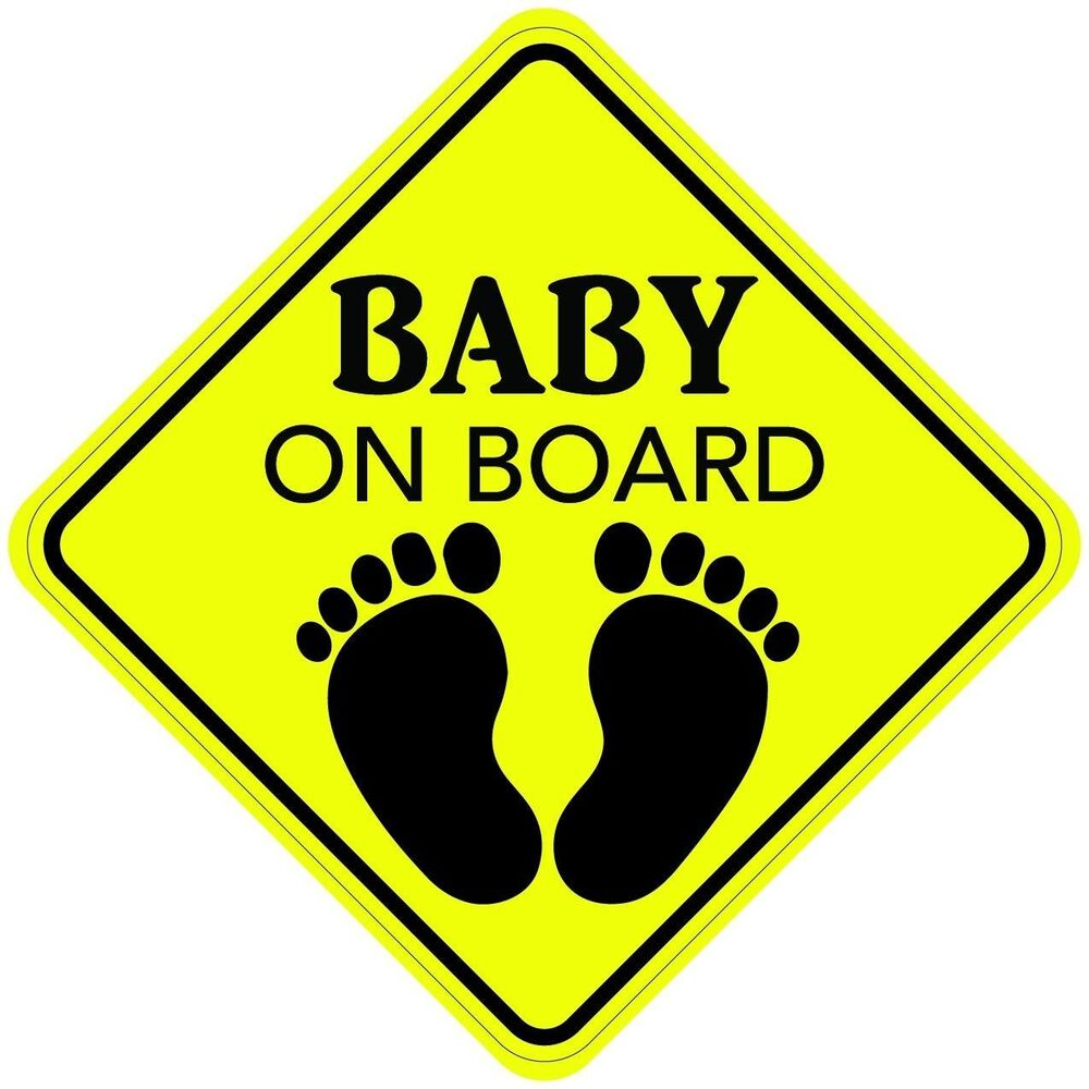baby on board sticker decal child car sign made in usa buy 2 get 3rd free ebay. Black Bedroom Furniture Sets. Home Design Ideas