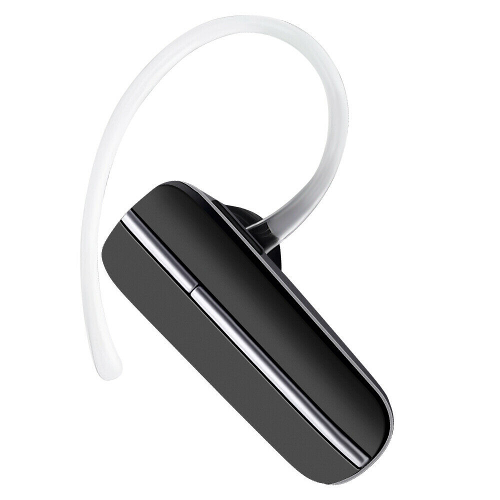 black in ear bluetooth headset for samsung galaxy s7 edge. Black Bedroom Furniture Sets. Home Design Ideas