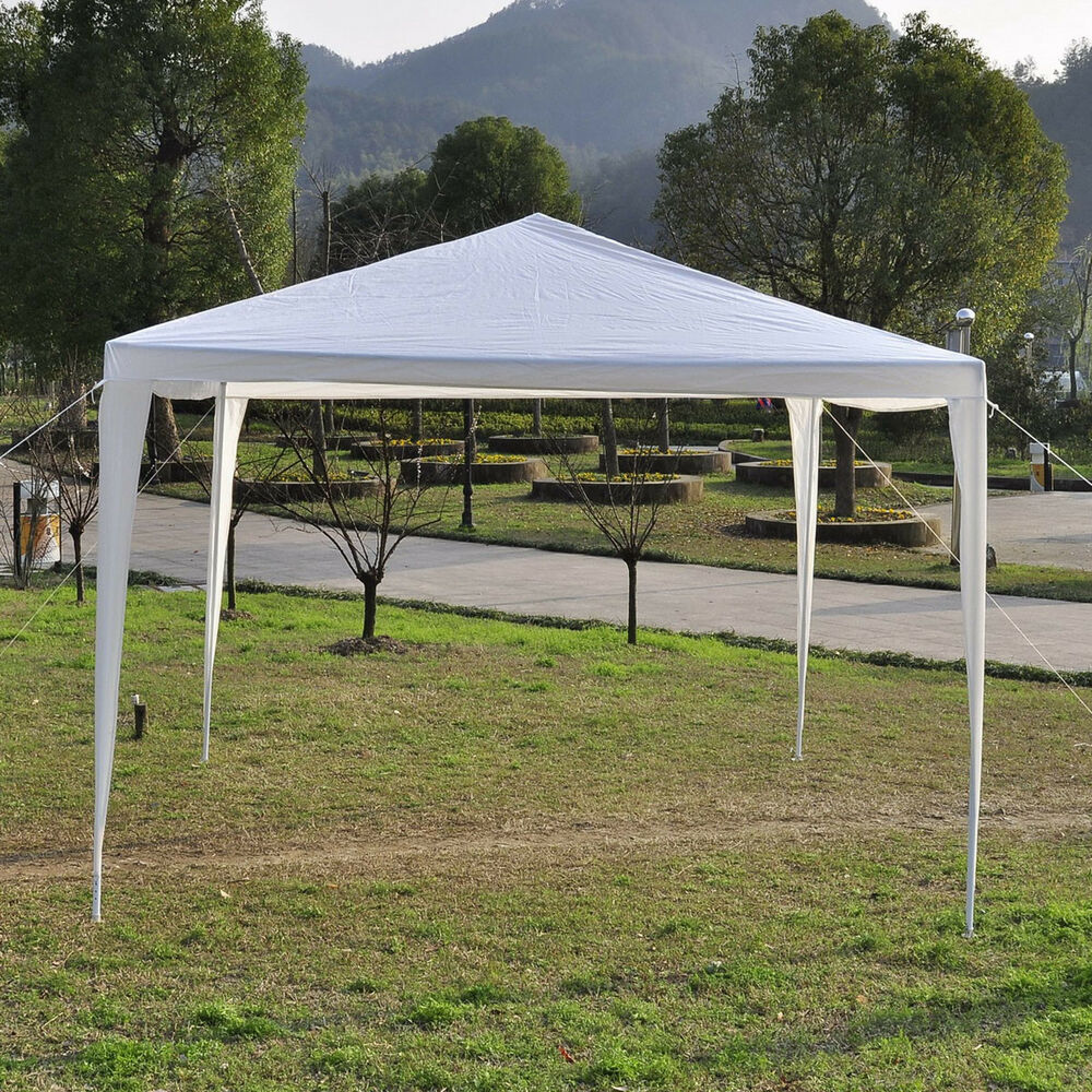 10x10 Portable Gazebo : Outdoor tent portable shade canopy patio yard garden