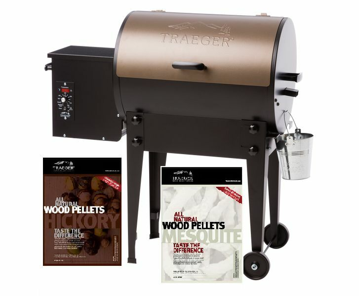 Traeger Tfb30lzb Tailgater Pellet Grill With 2 Bags Mesquite Hickory Or Others Ebay