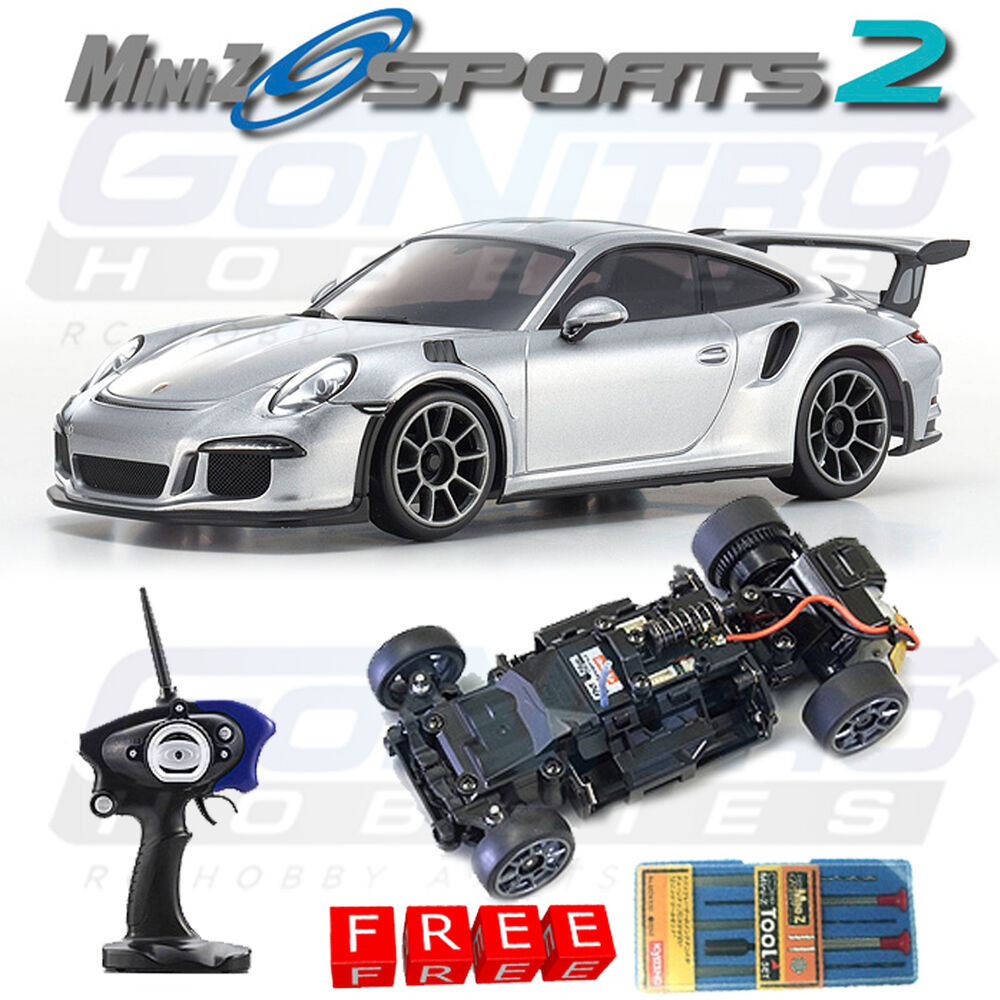kyosho mini z sports 2 mr 03s2 rm porsche 911 gt3 rs rtr. Black Bedroom Furniture Sets. Home Design Ideas