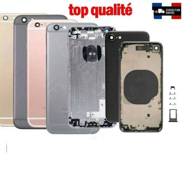 chassis coque arriére iphone 5/5c/5s/6/6splus iphone 7/8/8plus/iphone X/xr/xsmax