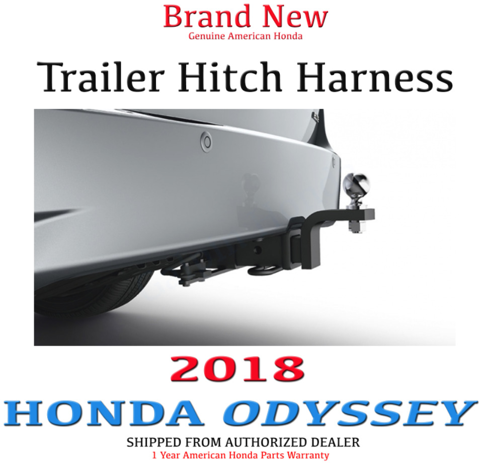 genuine oem honda odyssey trailer hitch wire harness 2018. Black Bedroom Furniture Sets. Home Design Ideas