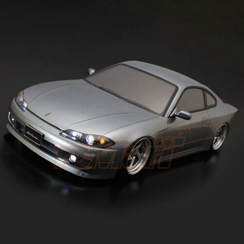 abc hobby nissan s15 silvia 196mm clear body 1 10 rc cars. Black Bedroom Furniture Sets. Home Design Ideas